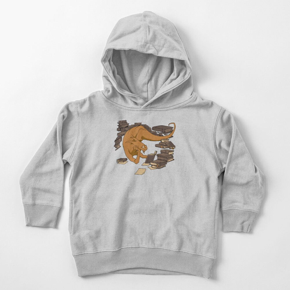 The Book Wyrm Toddler Pullover Hoodie