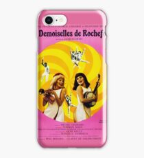 Les Demoiselles de Rochefort - French New Wave film starring Catherine Deneuve iPhone Case/Skin