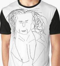 Fabio sketch by LSH (No Text) Graphic T-Shirt