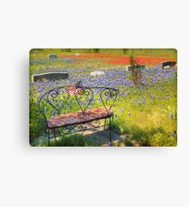 Rest in Peaceful Color Canvas Print