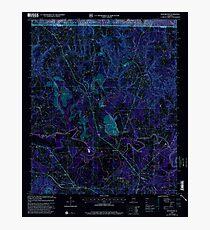 USGS TOPO Map Alabama AL Manchester 304474 2000 24000 Inverted Photographic Print