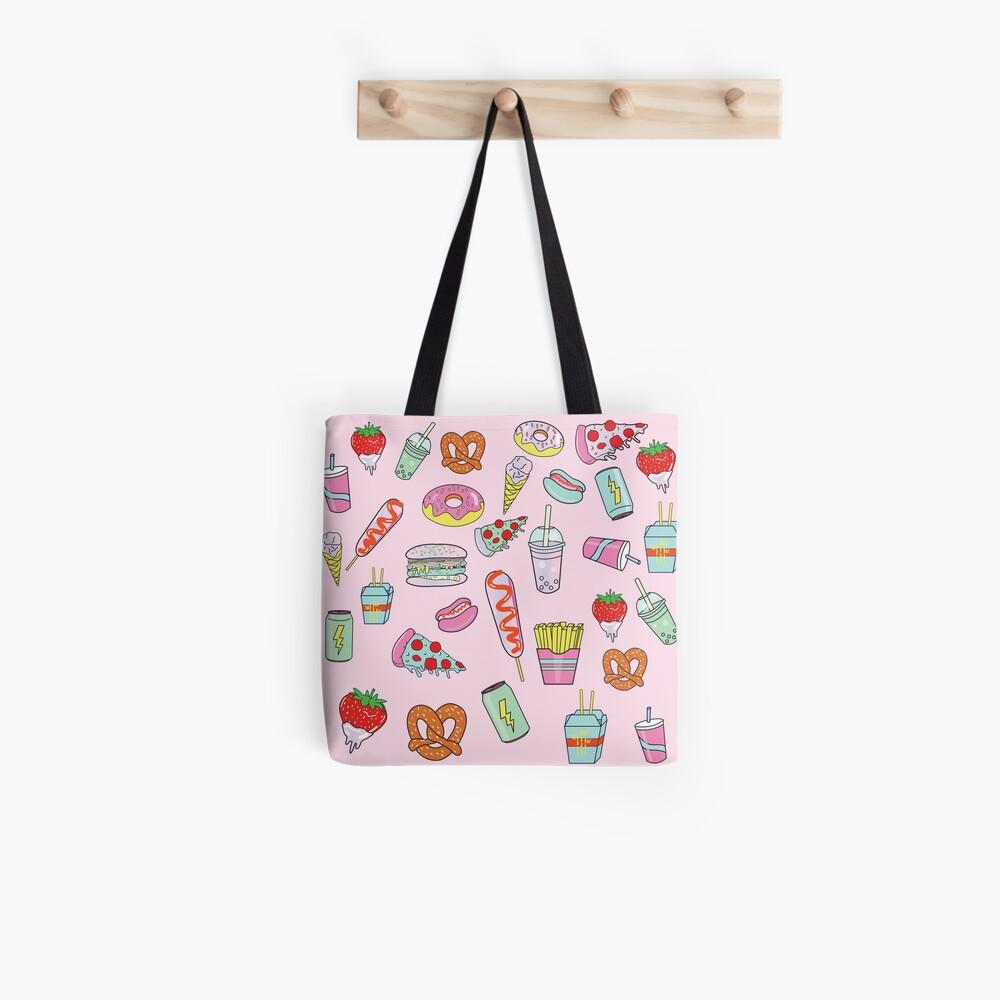 Dreaming Of Junk Food Tote Bag