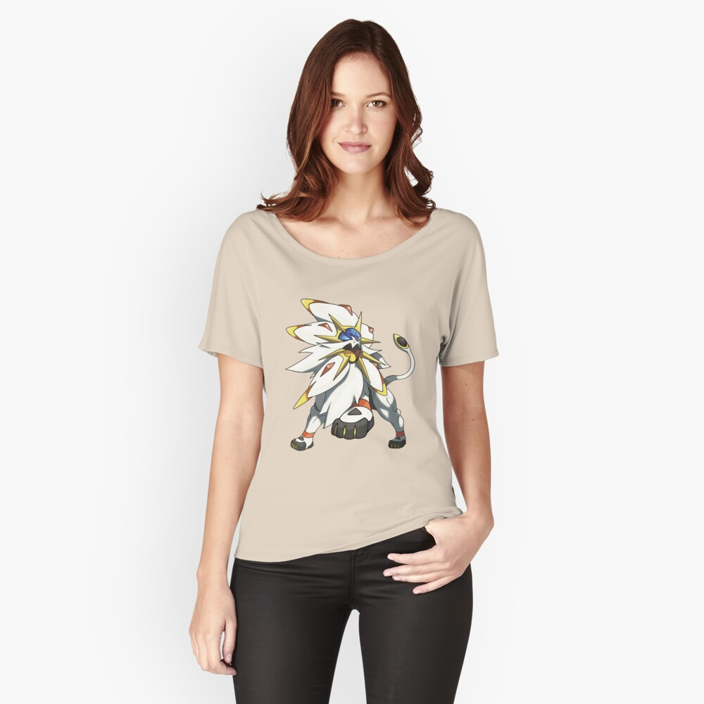 Solgaleo - Pokemon Sun Women's Relaxed Fit T-Shirt Front