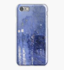 Rainy Midnight -  Childe Hassam iPhone Case/Skin