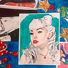 Rockabilly beauty by Kellea Croft