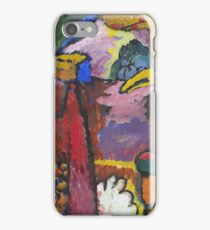 Kandinsky - Study For  Painting With White Border iPhone Case/Skin