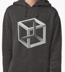 Mind blowing Escher's cube Pullover Hoodie