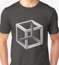 Mind blowing Escher's cube Unisex T-Shirt