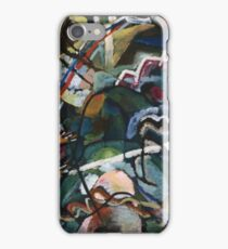 Kandinsky - Sketch I For  Painting With White Border iPhone Case/Skin