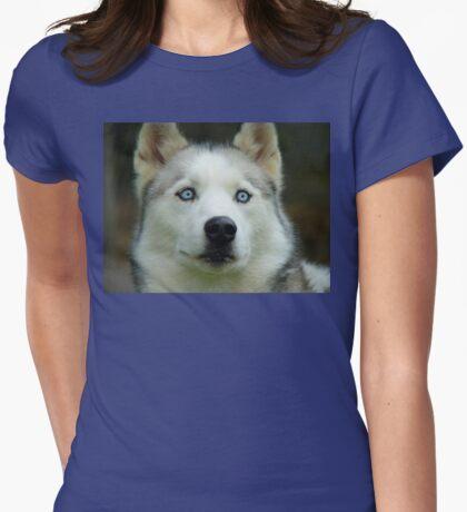 Look Into My Baby Blues!!! - Siberian Husky - NZ T-Shirt