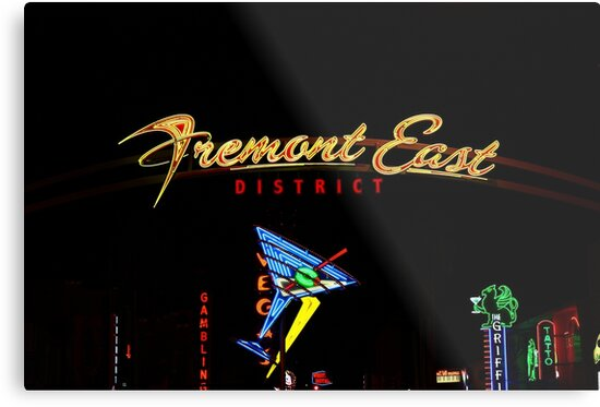 Freemont in Neon by Linda Bianic