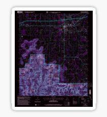 USGS TOPO Map Alabama AL Moulton 304610 2000 24000 Inverted Sticker