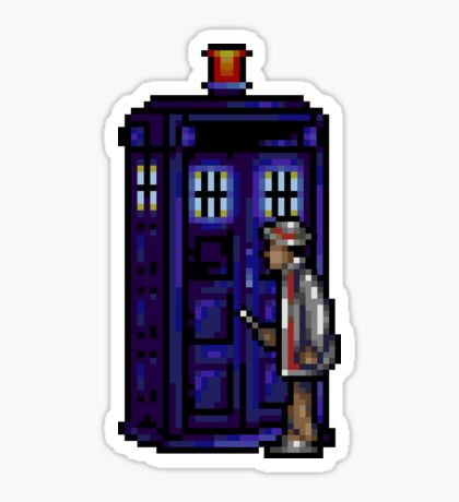 Time And Relative Pixels: Seventh Doctor Sticker
