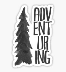 Adventuring Sticker