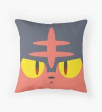 Litten fantasy Throw Pillow
