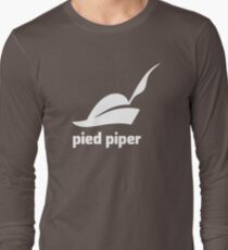 Pied Piper 3.0 Logo - Silicon Valley - New Logo - Season 3 Long Sleeve T-Shirt