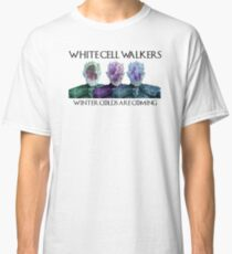 White Cell Walkers Classic T-Shirt