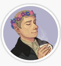FlowerCrownJohn Sticker