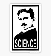 Nikola Tesla & Science Sticker