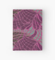 Blue and Purple Abstract Print Duvet Cover Hardcover Journal