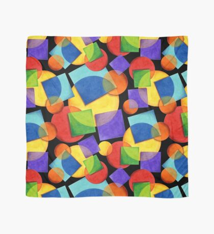 Candy Rainbow Geometric Scarf