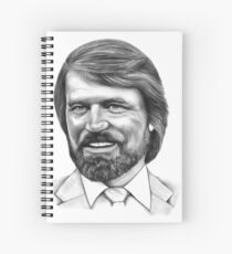 Glen Campbell Spiral Notebook