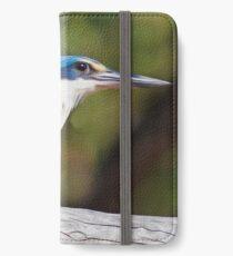 Sacred Kingfisher iPhone Wallet/Case/Skin