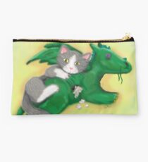Mittens The Dragonslayer Studio Pouch
