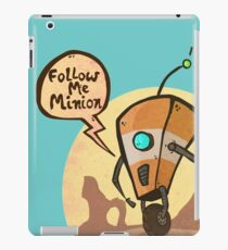 Follow me minion iPad Case/Skin