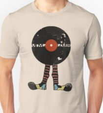 Funny Vinyl Records Lover - Grunge Vinyl Record Unisex T-Shirt