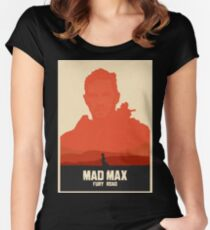 Mad Max Fury Road Art #1 Women's Fitted Scoop T-Shirt
