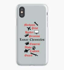 Lunar Chronicle characters iPhone Case/Skin