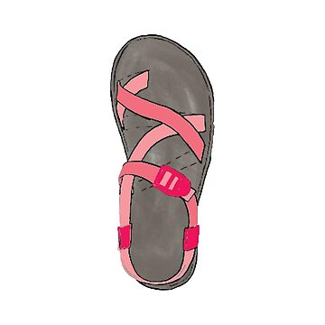 Pink Chaco Shoes  by alitmcgary