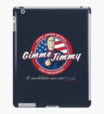 Better Elect Jimmy (Version 1) iPad Case/Skin