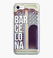 BARCELONA DOOR SPAIN WANDERLUST SPAIN iPhone Case/Skin