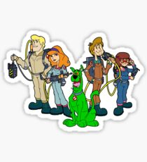 The Real Scooby Busters! Sticker