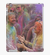 HOLI, Indian Festival of Colour, in San Diego County 2016  iPad Case/Skin