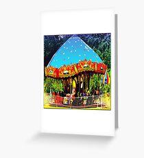 Merry-Go-Round Motion And Rhythm Greeting Card