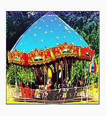 Merry-Go-Round Motion And Rhythm Photographic Print