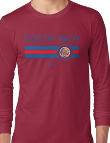 Copa America 2016 - Costa Rica (Home Red) Long Sleeve T-Shirt