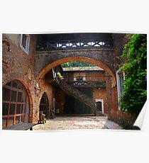 Sant'Alessio Castle Poster