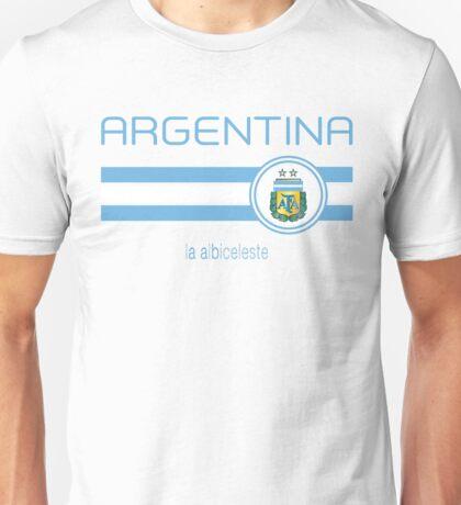 Copa America 2016 - Argentina (Home White) Unisex T-Shirt