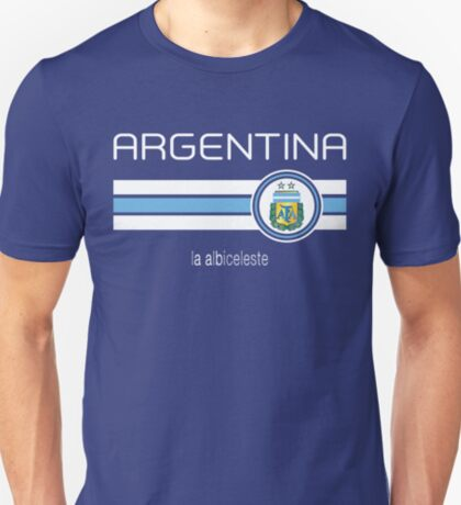 Copa America 2016 - Argentina (Away Blue) T-Shirt