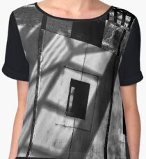 Abstract shot of the front of Australia's Parliament House. Chiffon Top