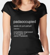 Padaoccupied Women's Fitted Scoop T-Shirt