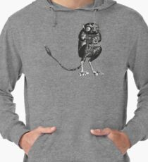 Say Cheese! | Tarsier with Vintage Camera Lightweight Hoodie