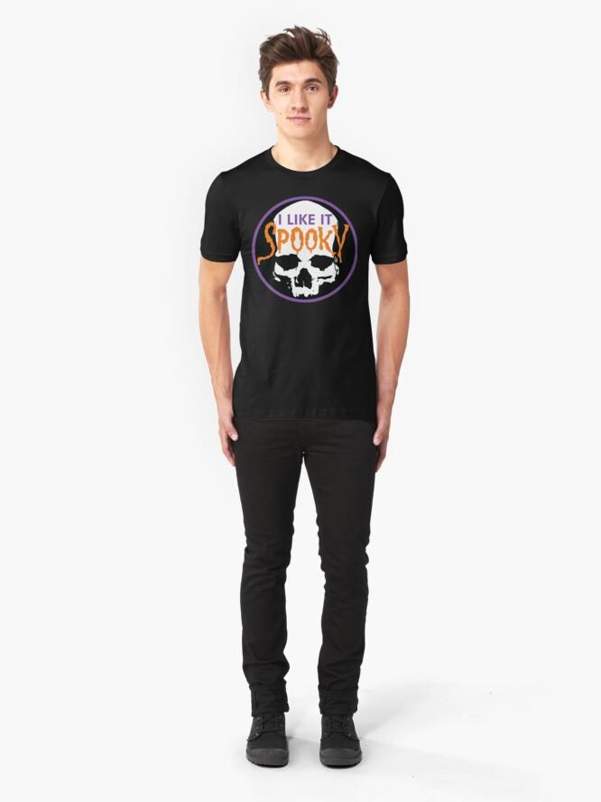 Alternate view of I Like It Spooky Slim Fit T-Shirt