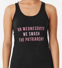 On Wednesdays We Smash The Patriarchy Women's Tank Top
