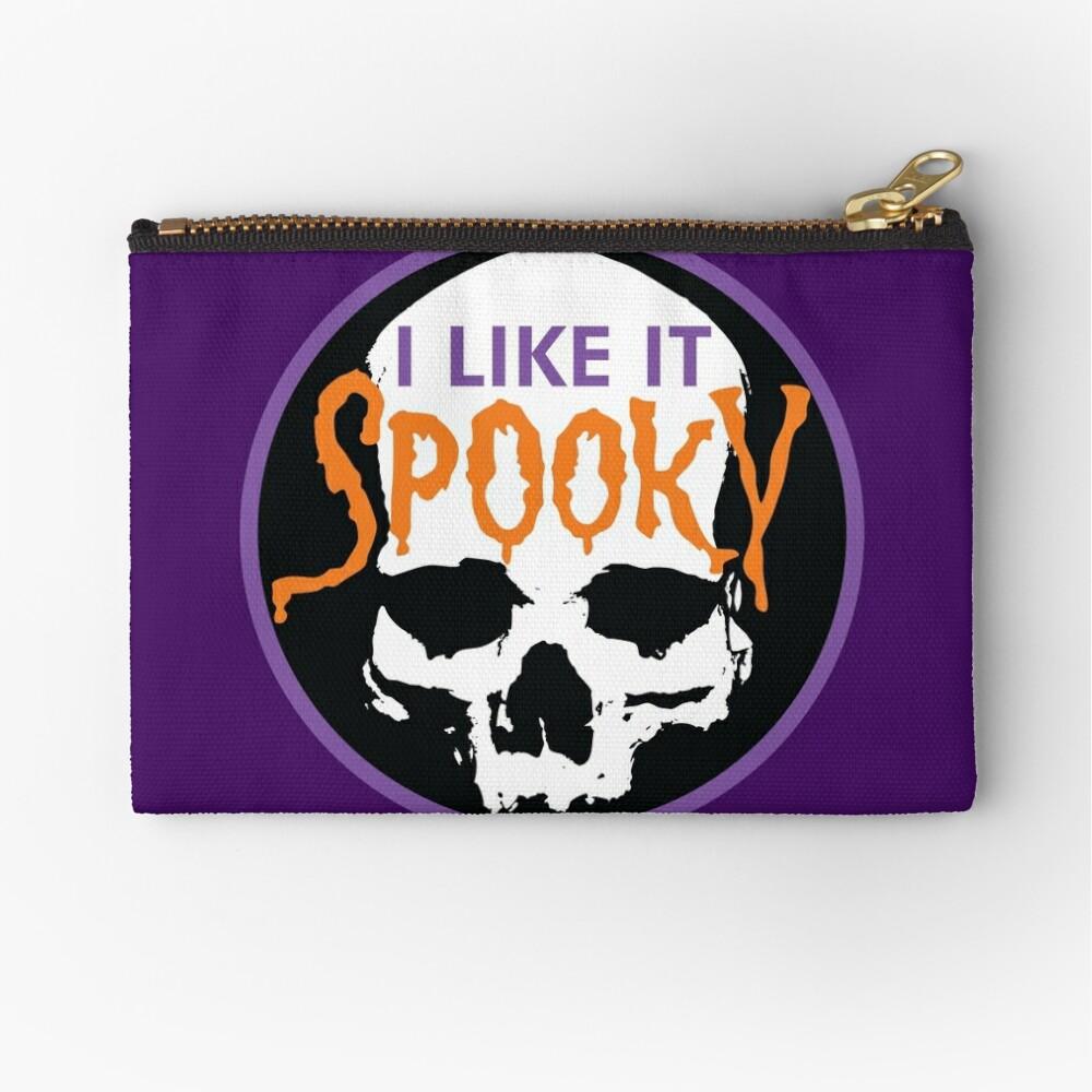 I Like It Spooky Zipper Pouch