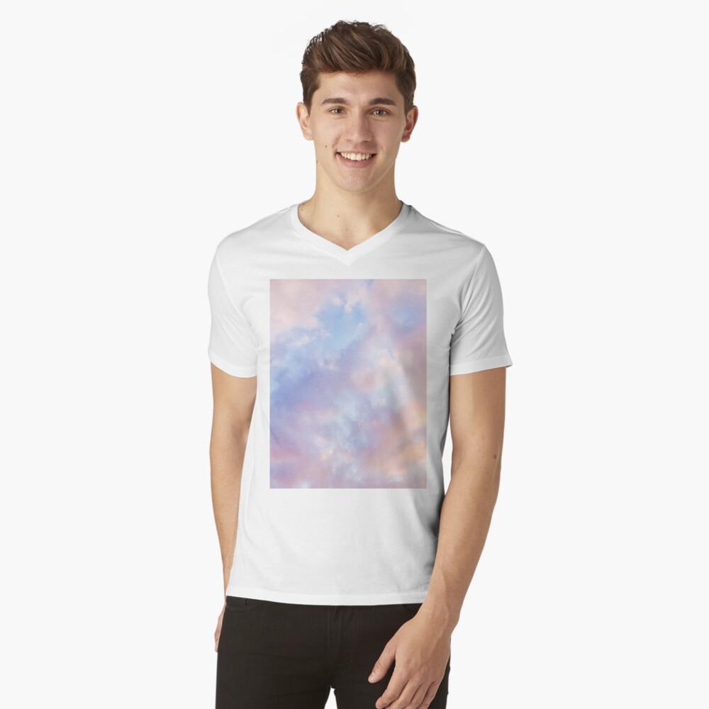 Pink sky V-Neck T-Shirt